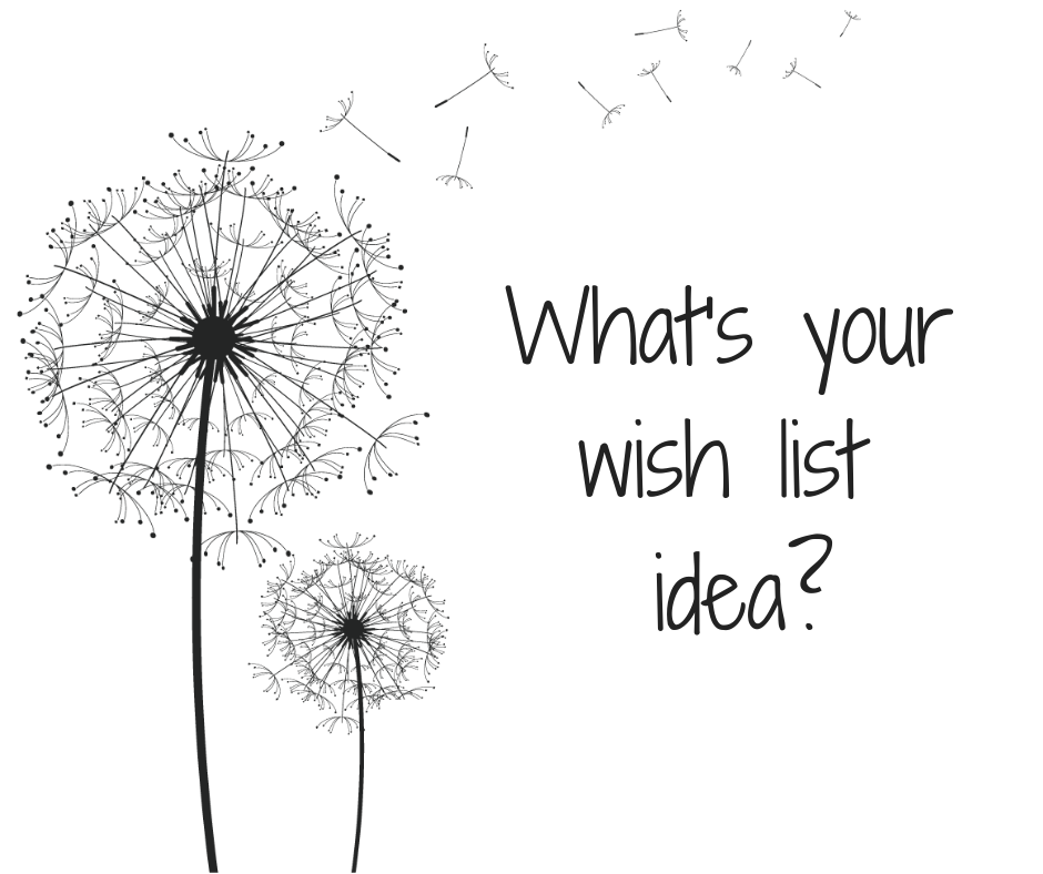 What's your appropriations wish list idea?